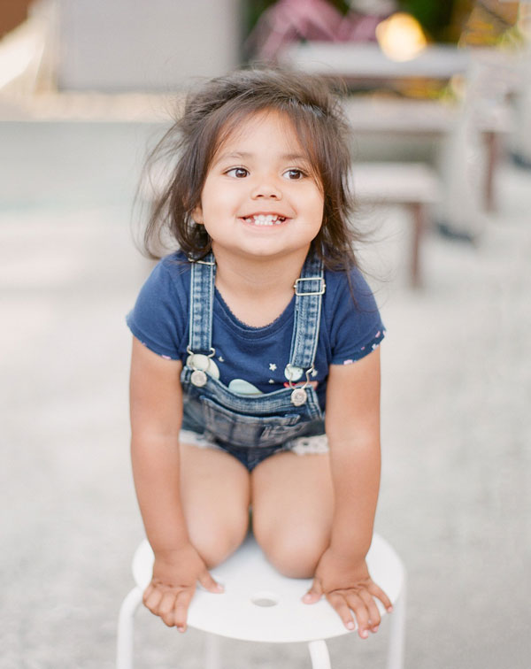 Young Child Sitting